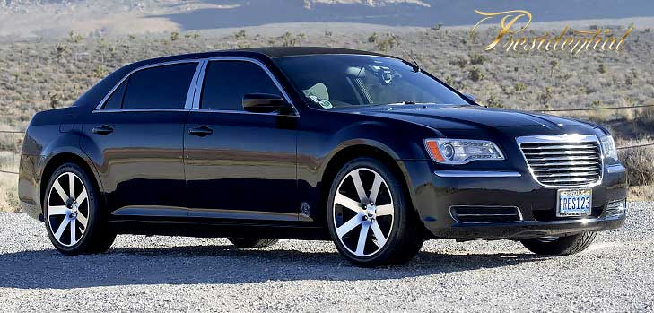 Las Vegas Luxury Sedan Town Car Service Presidential